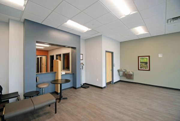 Medical Lobby Construction